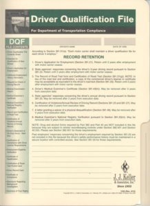 Driver Qualification File