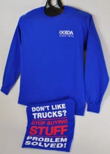 OOIDA Don't Like Trucks Long Sleeve T-shirt
