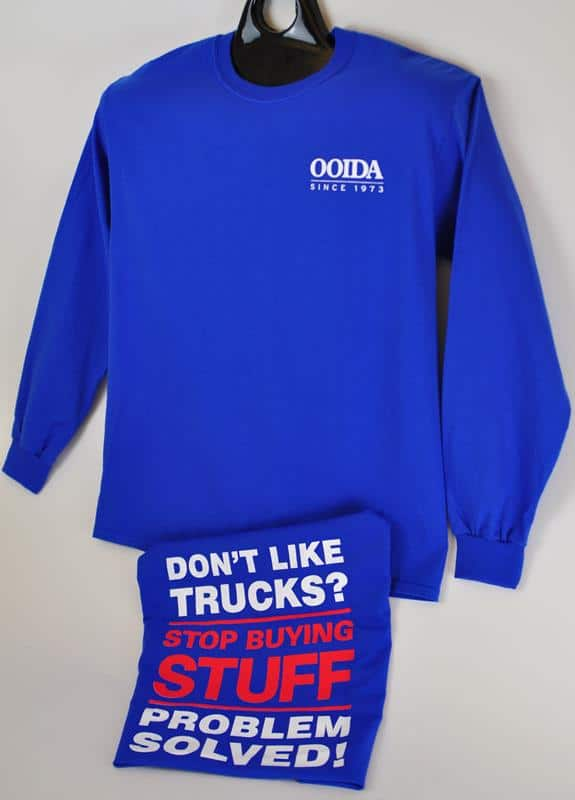OOIDA Don't Like Trucks Long Sleeve T-shirt