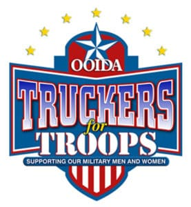 Truckers for Troops Logo