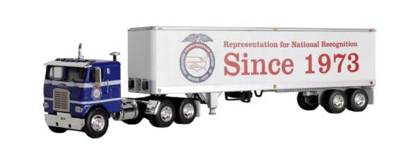 OOIDA Die-cast Cabover Truck and Trailer