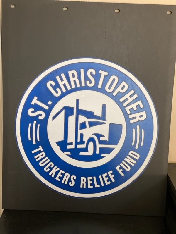 St. Christopher Mud Flap